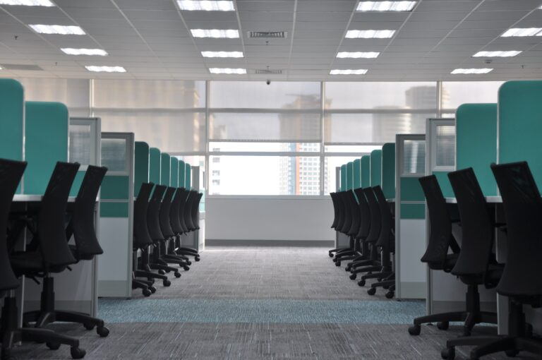 Image of an empty office space - Showcase Clean